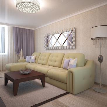 Интерьер гостиной комнаты. 1000 фото и идей.