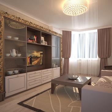Фото дизайна интерьеров гостиных комнат.