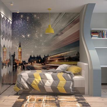 подростковая спальня для мальчика фото