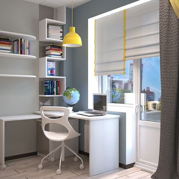 Сотни идей для дизайна детских спален и подростковых комнат.
