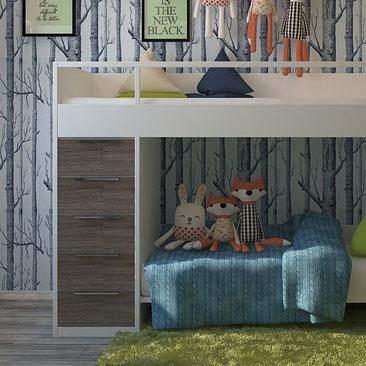 Интерьеры и дизайн детских комнат