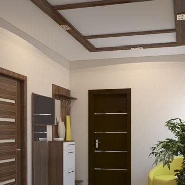 Разработка дизайн проекта холла/прихожей с лестницей.