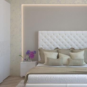 Спальня интерьер, фото.
