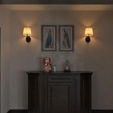 Дизайн интерьера прихожих и холлов, картинки, заказ дизайн-проекта.