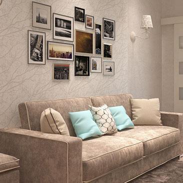 Дизайн гостиной фото - уютная гостиная, дизайн-проект.