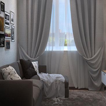 Дизайн гостиной фото - уютная и небольшая квартира.