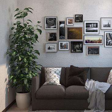 Совсем маленькая гостиная - нестандартные решения дизайна.