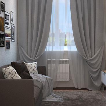 Маленькая гостиная - нестандартные решения дизайна.