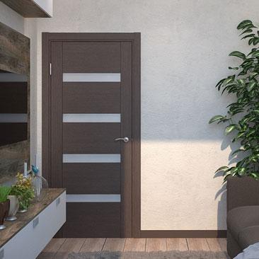 Интерьер небольшой гостиной - цветовые решения: оттенки коричневого.