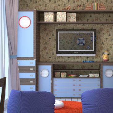 Дизайн детской для мальчика - интерьерный дизайн детских комнат для мальчишек.