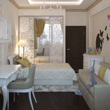 Дизайн комнаты для девушек 18 лет