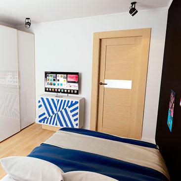 Разработка дизайн-проекта комнаты подростка - портфолио