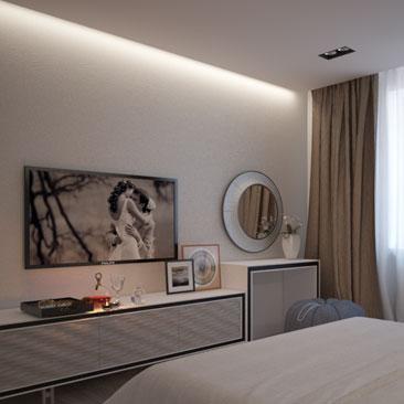 Дизайн взрослой спальни - уютный и комфортабельный дизайн спальни.