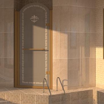 Дизайн интерьера бассейнов в загородных домах (бассейн в просторной пристройке).