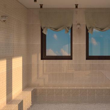 Красивые бассейны - внутренние интерьеры и дизайн-решения.