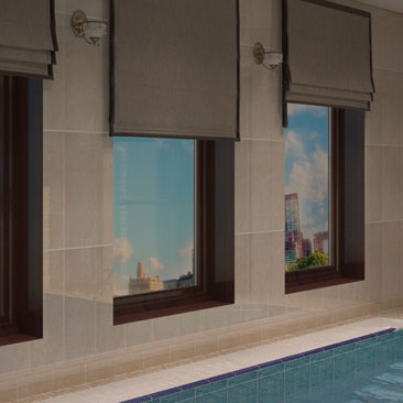 Интерьеры бассейнов - портфолио дизайн-студии.