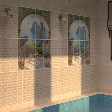 Дизайн-проекты частных бассейнов (интерьеры).