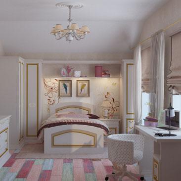 Дизайн детской комнаты Москва.