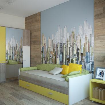 Дизайн интерьера детской комнаты Москва.