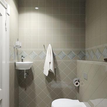 Дизайн-проект туалета.