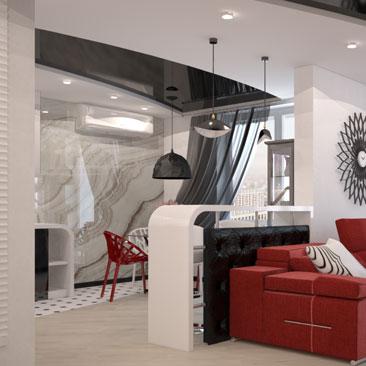 Идеи интерьера квартиры - фото.