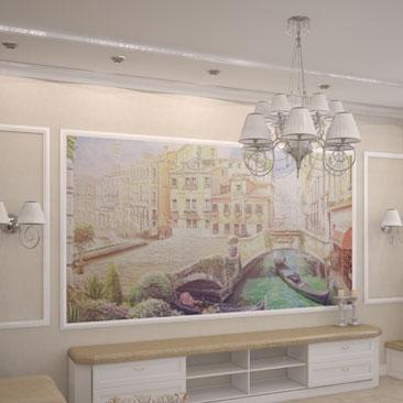 Дизайн, интерьер гостиной - фотогалерея дизайнерских проектов.