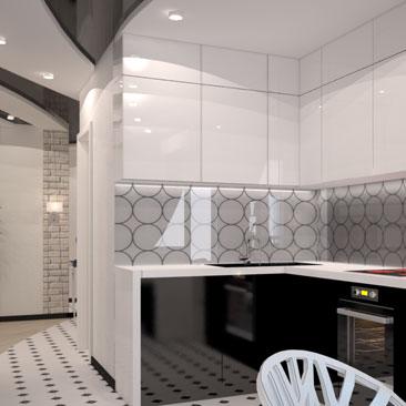 Идеи для интерьера кухни - фотогалерея проектов.