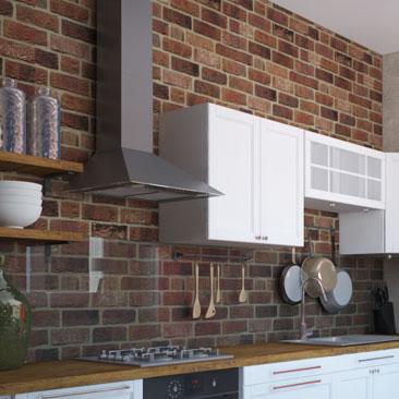 Кухни в стиле лофт - фотогалерея проектов.