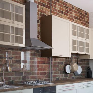 Кухня Лофт - фото, дизайн, интерьер.