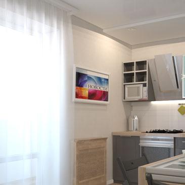 Идеи дизайна для кухни, фото, галерея проектов.
