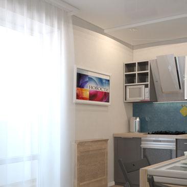 Идеи дизайна для кухни в квартире.