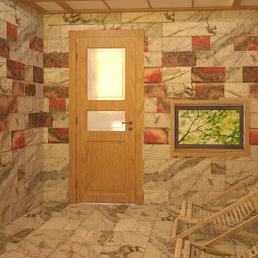 Дизайн интерьера соляной пещеры