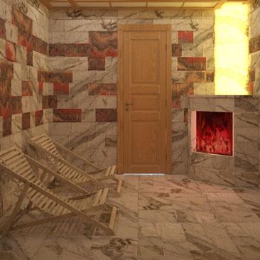 Дизайн проектирование соляной комнаты