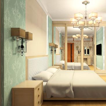 Фото спальни в классическом стиле - идеи дизайна.