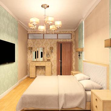 Проект дизайн спальни.