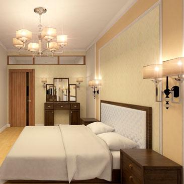 Дизайн спальни - 1000 лучших идей в классическом стиле.