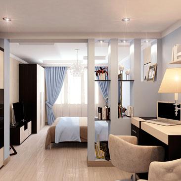 Интерьер и дизайн спальни в квартире.