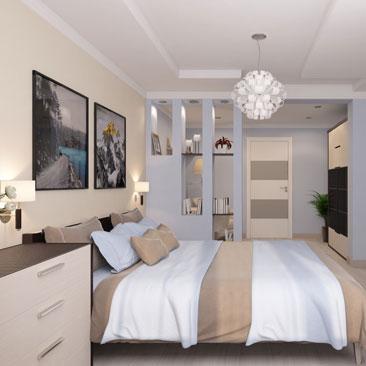 Дизайн-проекты спальни - онлайн-каталог.