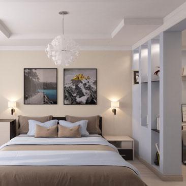Интересные идеи ремонта спальни в квартире.