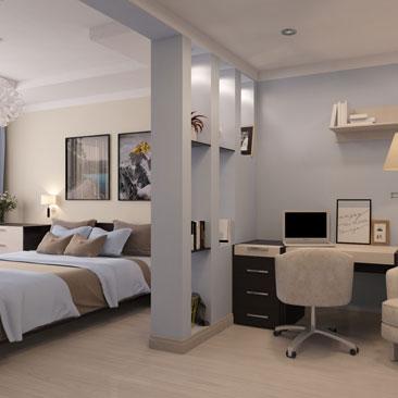 Красивые идеи для ремонта спальни.
