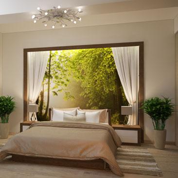 Идеи для спальни - фото каталог дизайн-проектов.