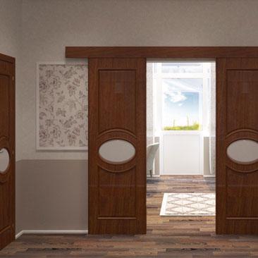 Дизайн-проекты холла/коридора в классическом стиле.