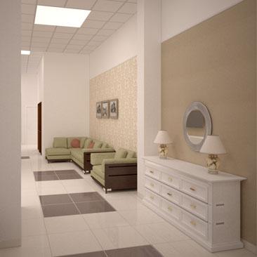 Дизайн магазина по продажам мебели.