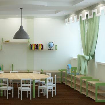 Дизайн интерьера детского центра - проекты.