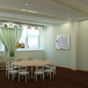 Детский сад Монтессори - дизайн проекты интерьеров.