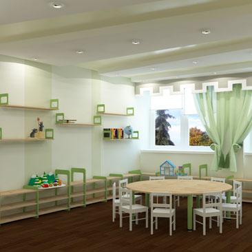 Дизайн Монтессори детского сада - фото кабинетов и интерьеров.