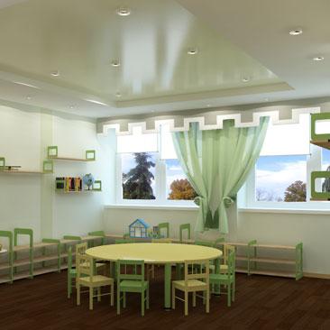 Дизайн частного детского сада Москва.