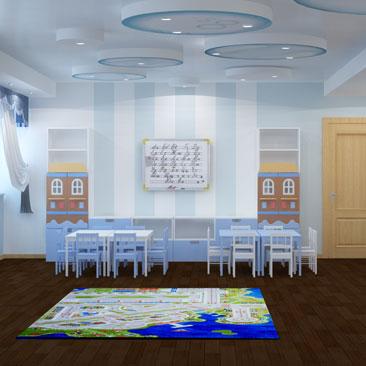 Дизайн детского сада Москва.