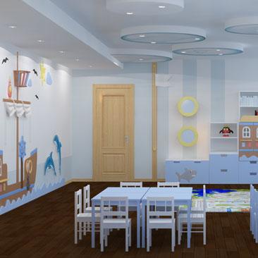 Дизайн детского центра в Москве.