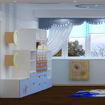 Центр всестороннего развития для детей - дизайн интерьеров.